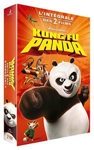 Kung Fu Panda + Kung Fu Panda 2 [Francia] [DVD]