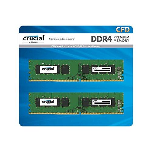 CFD販売 デスクトップPC用メモリ PC4-19200(DDR4-2400) 16GB×2枚 / 288pin / 無期限保証 / Crucial by Micr...
