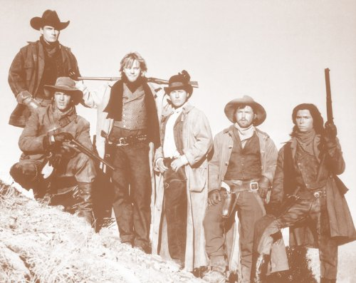 'Young Guns' Movie 11' X 14' Sepia Poster