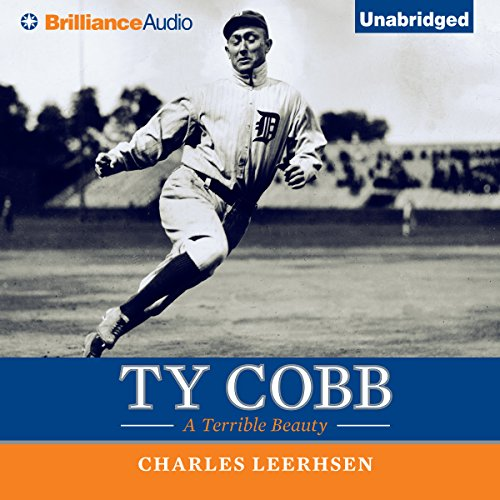 Ty Cobb audiobook cover art