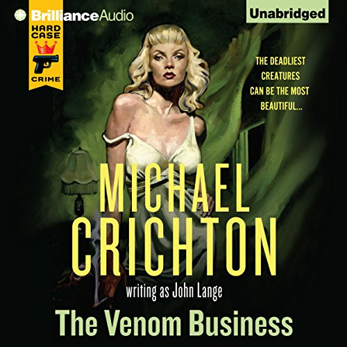 The Venom Business audiobook cover art