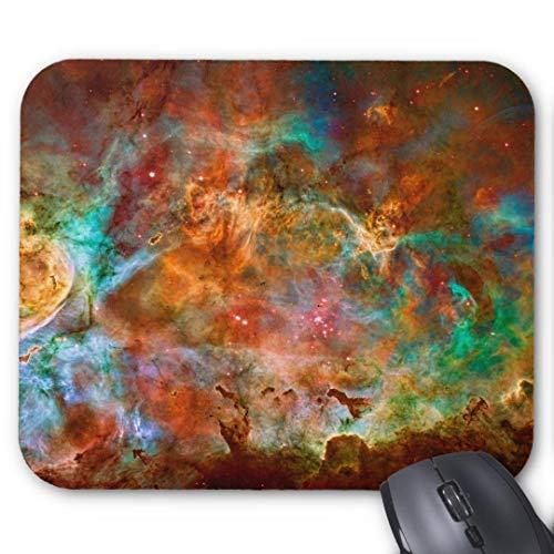 GBZ Mauspad, rutschfest, Gummi, rechteckig, für Computer, Laptop-Carina-Nebel in Argo Navis Konstellation