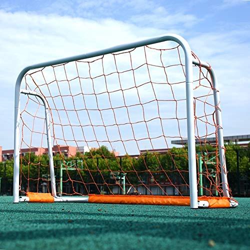 ZJM White Lacrosse Goal, Adults/Kids Outdoor Soccer Goals for Backyard,...