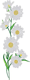 Ximkee Daisy Sew Iron on Applique Embroidered Patches