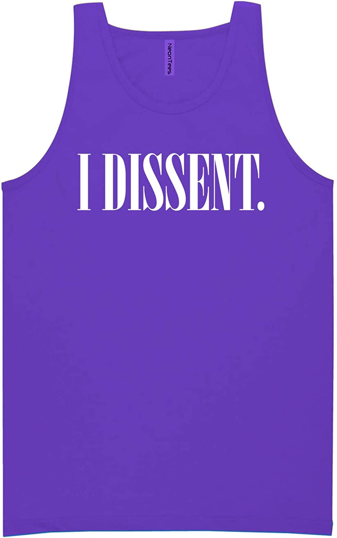 zerogravitee I Dissent Neon Purple Tank Top - XX-Large