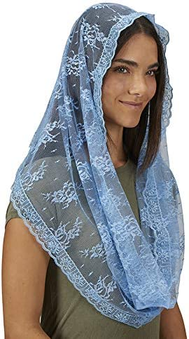 Autom Infinity Chapel Veil - Light Blue - 2/pk
