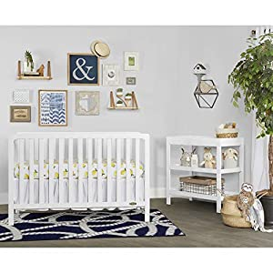 Dream On Me Ridgefield 5 in 1 Convertible Crib in White