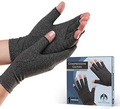 Dr. Fredericks Original Arthritis Gloves for Women & Men - Compression for Arthritis Pain Relief - Small