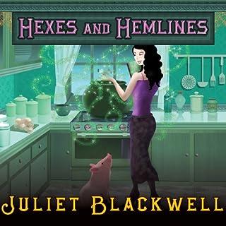 Hexes and Hemlines audiobook cover art