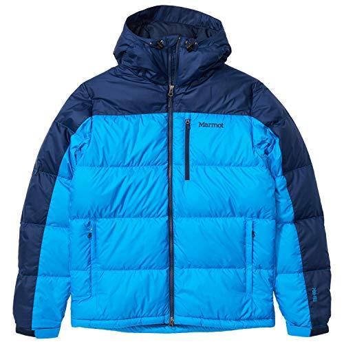 Marmot Guides - Plumífero para hombre, color azul claro/azul ártico, 2XT