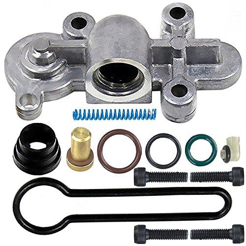 6.0 Blue Spring Kit Upgrade,Ford Blue Spring Kit 6.0 Powerstroke Fits 2003 2004 2005 2006 2007 F250, F350, F450, F550- Replaces 3C3Z-9T517-AG Fuel Pressure Regulator Kit