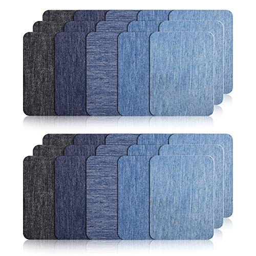 Veraing Patches zum Aufbügeln 30 Stück Patch Sticker, Aufbügelflicken Bügelflicken