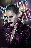 Suicide Squad - Joker - Druck Plakat Film Poster - Größe
