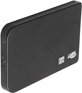 Shiwaki Disco Duro Externo Portátil 2.5'', Tipo USB 3.0 HDD SSD Almacenamiento para PC, Chromebook - Negro 500GB