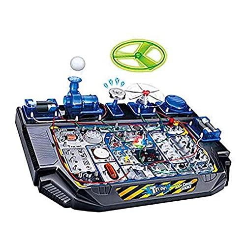GAO-bo Juguetes para niños Regalos de cumpleaños Niños 8-12 años Escuela Primaria Estudiantes Asunto Experimento de Aprendizaje Experimento Circuito de Regalo Equipo de Juguete Niño Niños.