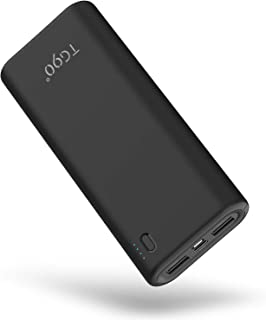 Cell Phone Portable Charger TG90 Power Bank 20000mah External Battery Packs, 15W Max Output USB-C Power Delivery Battery Bank Portable Battery Charger Compatible with iPhone iPad Android Phones
