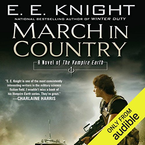 March in Country audiobook cover art