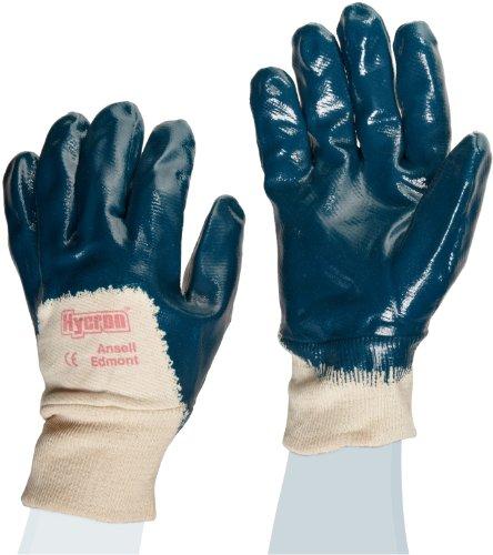 Ansell ActivArmr 27-600 Guanto Oleorepellente, Protezione Meccanica, Blu, Taglia 8 (12 Paia)