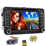 EinCar Autoradio f¨¹r Volkswagen VW / SKODA / SEAT + Car DVD-Player / Navigator mit GPS-Navigation + NAVI-Software inkl. Europa-Karten (vorinstalliert) + Bluetooth Freisprecheinrichtung...