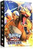 Porta Carte Pokemon, Album per Carte Pokemon GX, Pokemon Carte Album,Pokemon Carta Titolare, Pokemon Album Cartella Raccoglitore Libro 30 Pagine 240 capacità di Carte