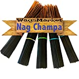 WagsMarket Premium Hand Dipped Incense Sticks, You Choose The Scent. 100-12in Sticks. (Nag Champa)