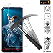 ANEWSIR for Huawei Honor 20/Honor 20 pro/Huawei Nova 5t Screen Protector【2-Pack】[No Bubbles][9H Hardness][Easy to Apply] Tempered Glass Screen Protector Honor 20/Honor 20 pro/Huawei Nova 5t