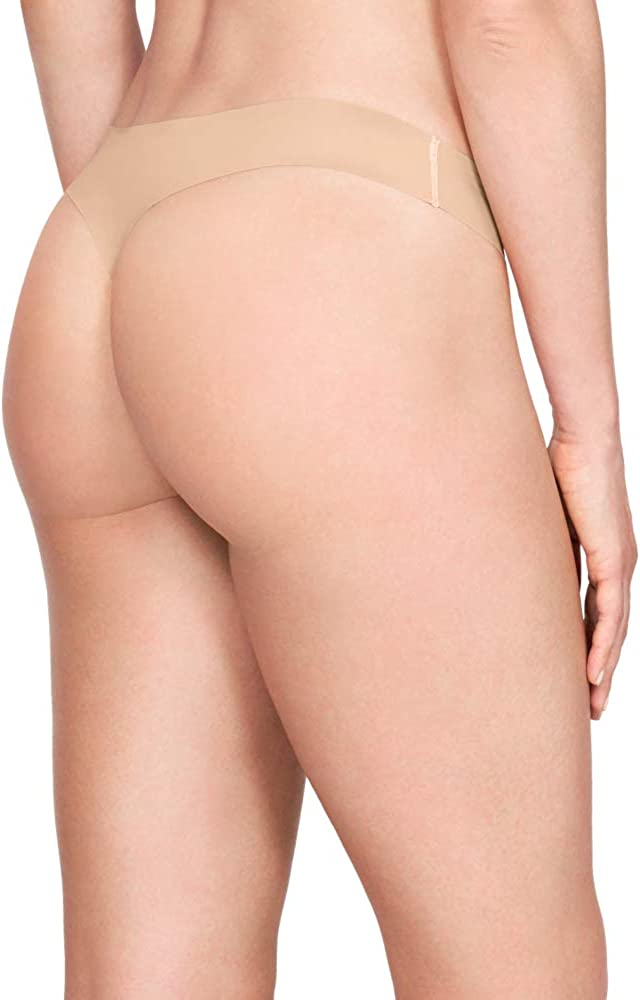 3-Pack Under Armour Womens Pure Stretch Thong Underwear