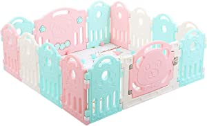 Baby Playpens Plastic Baby Fence Baby Indoor Playground Child Fence Child Safety Fence Portable Panel