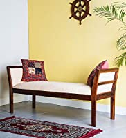 AASALIYA Art Art Sheesham Wood Bench for Living Room