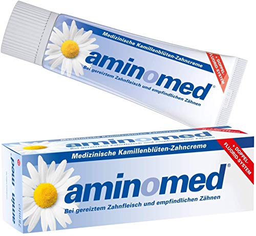 Aminomed Zahncreme 75ml, 3er Vorteilspack (3x 75ml Tube)