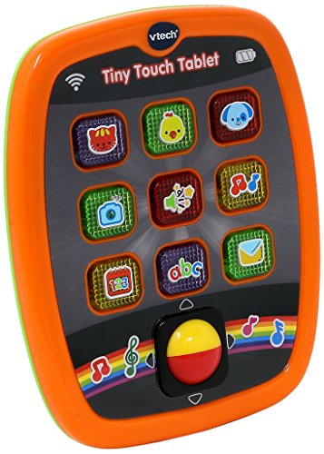 VTech Baby Tiny Touch Tablet (Orange)
