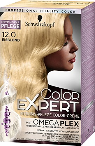 Schwarzkopf Color Expert Intensiv-Pflege Color-Creme 12.0 Eisblond, 3er Pack (3 x 167 ml)