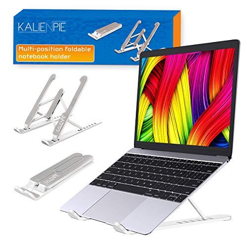 Soporte portatil elevador mesa soporte tablet movil mesa ajustable diferentes angulos plegable...