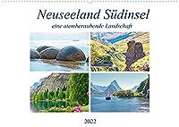Neuseeland Suedinsel - eine atemberaubende Landschaft (Wandkalender 2022 DIN A2 quer): Spektakulaere Landschaftsbilder der Suedinsel Neuseelands. (Monatskalender, 14 Seiten )