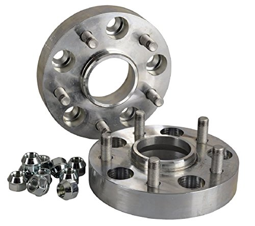 Hofmann Spurverbreiterung Aluminium 2 Stück (30 mm pro Scheibe / 60 mm pro Achse) inkl. TÜV-Teilegutachten