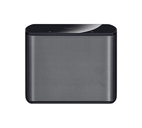 Magnat CS 10 | Multiroom-Lautsprecher | Kompakt und portabel Dank Integ. Akku (2 Stunden), Farbe:Schwarz