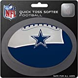 Rawlings NFL Dallas Cowboys Kids Quick Toss Softee Football, Blue, Small