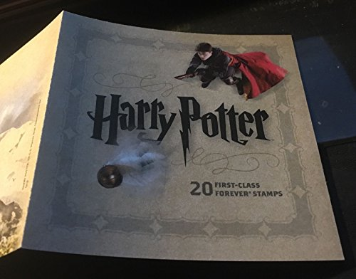 Harry Potter, Booklet of 20 x Forever Postage Stamps, USA 2013, Scott 4825-44