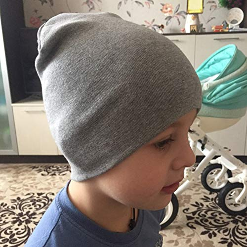 DRESHOW 4 Pieces Baby Beanie Newborn Toddler Soft Cute Knit Hat Hospital Hats for Baby Boys Infant Cap Beanies