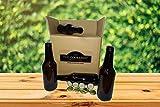 Set Botellas 33 cl y 50 chapas para elaborar Cerveza en casa más Chapadora Doble Palanca de Regalo (16)