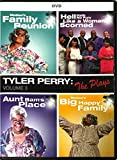 Tyler Perry: The Plays Volume 3 DVD - Madea's Big Happy Family / Aunt Bam's Place / Family Reunion + More!