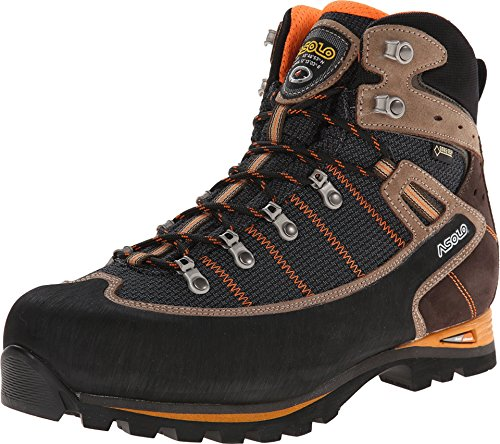 Asolo Men's Shiraz GV Backpacking Boot Black/Nicotine 10.5