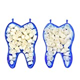 Angzhili Dental Temporary Crown Kit Dental Material Anterior Front & Molar Posterior(Pack of 2)