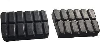 ihave 2X Brake Clutch Pedal Pad Covers for Nissan Hardbody Navara D21 D22 Frontier Datsun 1200 B110