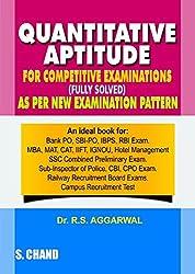 Quantitative Aptitude For Comparative Examinationby S chand