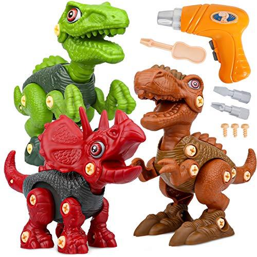 Dinosauri Giocattolo con Trapano Giocattolo,...