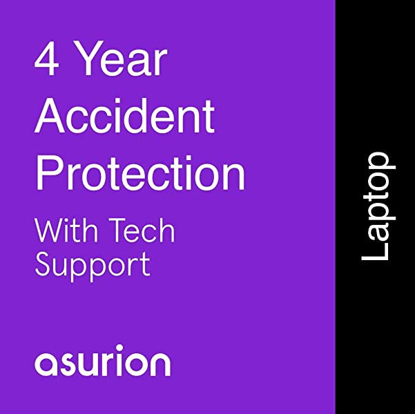 ASURION 4 Year Laptop Accident Protection Plan With Tech Support 700 799 99