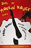 Moulin Rouge Poster 1963. /NA 1963 French Poster for The