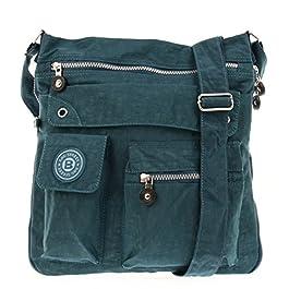 WILD THINGS ONLY !!! Bag Street Sac bandoulière Bodybag Crossbag Nylon Bleu