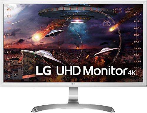 LG 27UD59-W 68,58 cm (27 inch) UHD 4K IPS monitor (AMD FreeSync, DAS Mode, game Mode) wit
